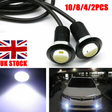 Car Motorcycle LED Eagle Eye Daytime Running DRL Tail Light Backup Lamp 12V 10W