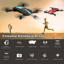 Foldable Pocket Selfie Drone 720P Camera WiFi FPV RC Quadcopter Helicopter Toy