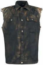 Rock Rebel by EMP Life Of An Easy Rider Gilet marrone