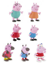 PEPPA PIG Juguete Figuras Pastel Toppers George MUMMY DADDY Bailarina Embarrado