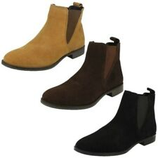 Mujer Leather Collection Informal Corto Botines