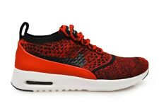 Womens Nike Air Max Thea Ultra Flyknit - 881175 601 - Red Black White Trainers
