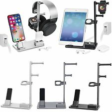 Pour Apple Watch Airpods iPad Mini iPhone X/8/7/6 Chargeur Station Dock 6 en 1