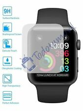 Lote Protector de Pantalla Cristal Templado Reloj Apple Watch Series 3 42 mm