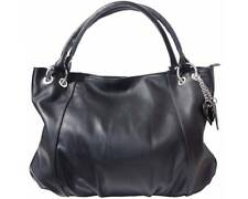 Women's Genuine Italian Leather Hobo Tote Bag