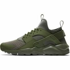 NIKE AIR HUARACHE RUN ULTRA * MEDIUM OLIVE/CARGO KHAKI * 819685 204 * UK 8,9,10