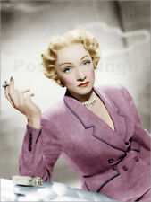 Cuadro de madera Marlene Dietrich, wearing a suit by Christian Dior