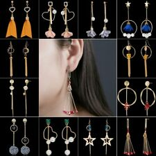 Crystal Pearl Tassel Dangle Drop Ear Stud Earrings Women Costum Jewellery Gift