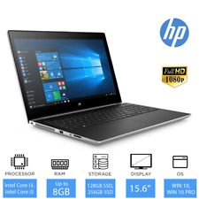 "HP ProBook 450 G5 - 15.6"" Best Business Laptop Intel Core i3 / i5,  4GB/ 8GB RAM"
