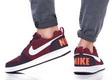 NIKE Escarpins District BASKETS BASSES CHAUSSURES DE SPORT pour homme Rouge
