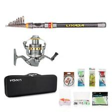 3.0m canne à pêche et Spinning Reel Combo Portable Télescope Reel Rod Set Y1G9