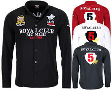 Geographical Norway UOMO CAMICIA MANICHE LUNGHE ROYAL CLUB casual bestrickt