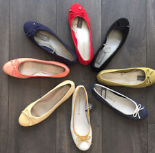 NEW WOMENS MARCO TOZZI ROUND TOE BALLET PUMPS LADIES LEATHER SUEDE FLAT  SHOES 92ab6298a1
