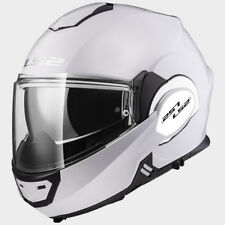 LS2 CASCO URBAN COMMUTER VALIANT FF399 SOLID WHITE MODULAR