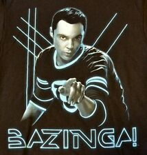 Big Bang Theory bazingza! T-SHIRT NERA Licenza Ufficiale Merchandise