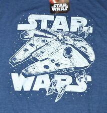 Star Wars Millennium Falcon Adult T-Shirt Fifth Sun Tee Officially Licensed