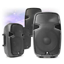 """CHOICE Active Powered ABS Mobile DJ Disco PA Speaker 8"""" 10"""" 12"""" 15"""" 200W-800W"""