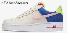 """Nike Air Force 1 Low """"Sail/Racer Blue/Arctic Pink"""" Women's Trainers"""