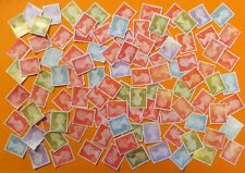 100 Unfranked 1st First Class Stamps Off Paper (With Very Minor Faults) #600