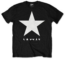 David Bowie Blackstar T-Shirt Official Album Black Men's Unisex Rock Pop Music