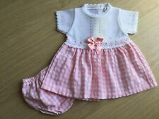 Girls Gingham/Knitted Dress And Pants Set By Mintini