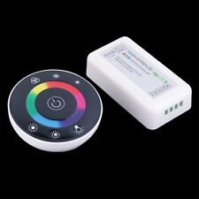 Wireless Touch Panel RF Remote 18A Controller Dimmer for RGB LED Strip MT