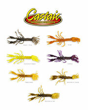 "Castaic Skirted Menace Craw 5"" (5 Pack) Select Colors Bass Fishing Lure Bait"