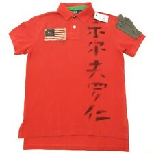 10313 polo RALPH LAUREN CUSTOM FIT a manica corta maglia uomo t-shirt men