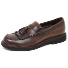 E7554 mocassino uomo brown TOD'S scarpe vintage effect loafer shoe man