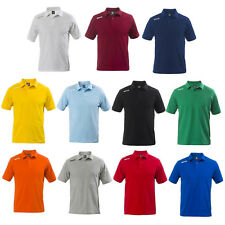 ERREA POLO TEAM COLOUR Manica Corta Uomo Donna Calcio Volley Rugby Basket