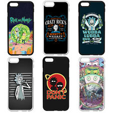 RICK AND MORTY WUBBA LUBBA Sanchez Don't Panic Phone Case Cover iPhone Samsung