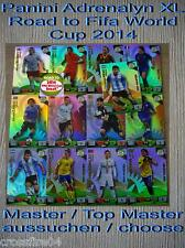Panini Adrenalyn Road to World Cup 2014 Brazil   Top Master / Master aussuchen