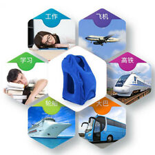 Travel Foldable Inflatable Pillow 1 Pcs Soft Air Cushion Neck Body Back Support