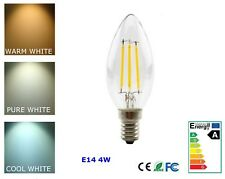 4W E14 Ampoule LED à variation ses Ampoule LED Bougie Chaud Pur Blanc Froid