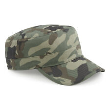 Beechfield Camo Army Cadet Military Unisex Cap Men's Ladies Camouflage Hat New
