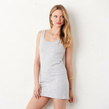 Bella+Canvas Ladies Crew Neck Jersey Tank Top Casual Plain Dress Retail Fit New