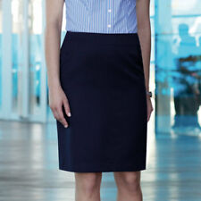 Brook Taverner Women's Smart Straight Professional Pencil Skirt Office Workwear