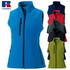 Russell j141f mujer 3 Capas Softshell chaleco Cremallera Completa Sin Mangas