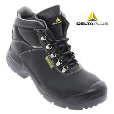 Delta Plus SAULT Men's Leather Work Safety Boot Reflective Strip Shoes Footwear