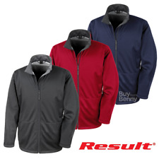 RESULT SOFTSHELL JACKET WATERPROOF LINED EXTRA WARM ACTIVE SPORTS MEN'S XS-3XL