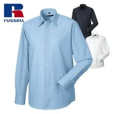 RUSSELL COLLECTION UOMO MANICA LUNGA EASY CARE fatto su misura OXFORD