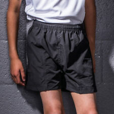 Tombo Teamsport Kids All Purpose Lined Shorts School PE Gym Training Active New