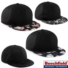 RETRO SNAPBACK BASEBALL CAP HAT FLOWERS FLORAL GRAPHIC HIP HOP RAPPER STYLE FLAT