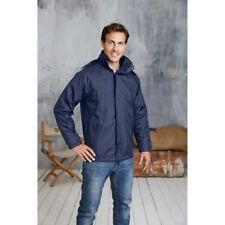 NUEVO KARIBAN 3-in-1 Chaqueta Hombre Poliester Impermeable Forro Polar Mangas
