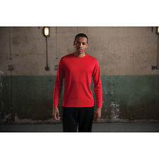 Awdis Just Cool Long Sleeve Wicking T-Shirt Wickable Sports Crew Neck T-shirts