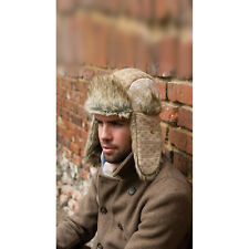 Result Winters Essentials Polar Max Sherpa Faux Fur Trim Woolly Hat Caps Unisex