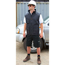 Result Work Guard Action Shorts Mens Cargo Pockets Combat Smart Work Pants