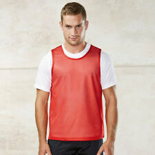 Kariban PA043 Mens Proact Light Mesh Sports Wear Bib 100% Polyester T-shirts Top