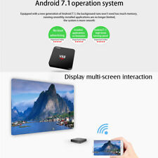 SCISHION V88 Mars 4K TV Box Android 7.1 RK3229 Quad-Core 1GB+8GB 2.4G H.265