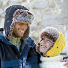 Result Adult Classic Sherpa Winter Hat Faux Fur Trapper Warm Showerproof RC056X